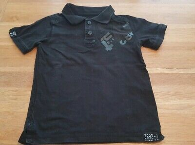 Boys black poloshirt top age 4 years from next