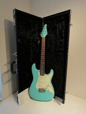 2008 Suhr Scott Henderson Electric Guitar in Seafoam Green - Stunning!