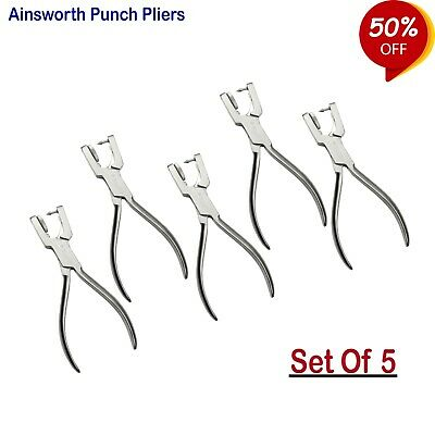 Ainsworth Punch Pliers Dental Dentist Rubber dam Punching plier