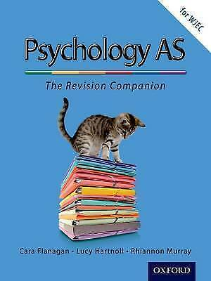 The Complete Companions: AS Revision Guide for WJEC Psychology by Lucy Hartnoll,
