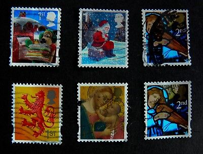 Xmas 3            1st and Second class stamps