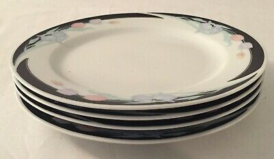 Lot of 4 Excel Caravel Bread and Butter Plates