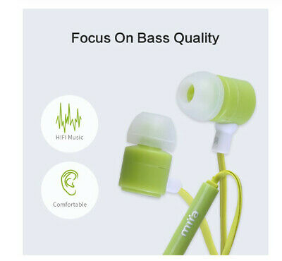 Earphone For Phone Stereo Sound Headset In-Ear Earphone For Samsung For iPhone