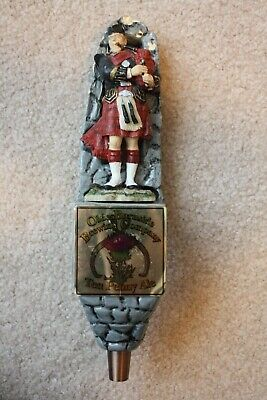 OLDE BURNSIDE BEER TAP HANDLE, Ten Penny Ale - RARE