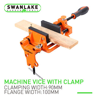 """4"""" Drill Press Vise Table Bench Wood Metal Holder Heavy Duty Iron Clamp"""