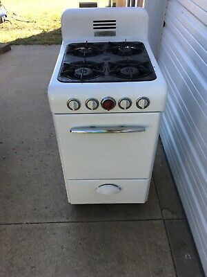 VINTAGE MAGIC CHEF 20 inch Apartment Size Gas Range Cook ...