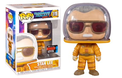 - IN HAND - Funko POP Marvel: Stan Lee Cameo - Astronaut - Fall Convention Exclu