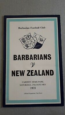 Barbarians v New Zealand  - 27th January 1973