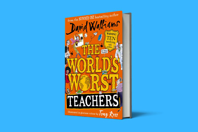 The World's Worst Teachers David Walliams Hardcover Best Seller Fast Delivery