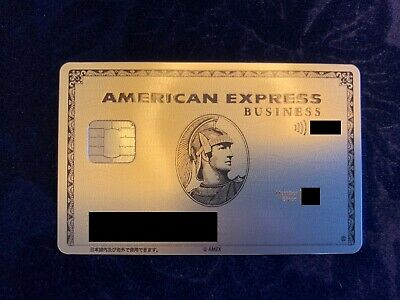 American Express Metal Business Platinum With Smart Chip 3793 Japan Card