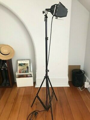 black photography lamp on tripod Richard R. Barton Sydney