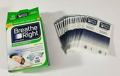 Breathe Right Extra Strength Clear Nasal Strips x38