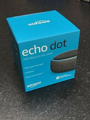 Amazon Echo Dot 3rd Generation - Brand New Sealed