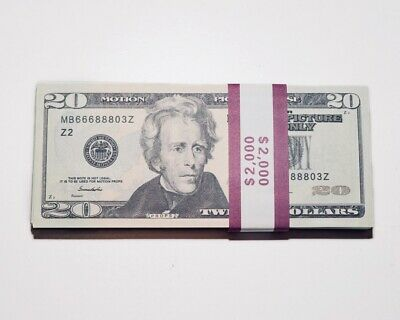 Movie, Music Video, Photo Purposed Prop Money - 2,000 Two Thousand