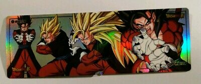 Carte Dragon Ball Z Special Vegetto 4 Rainbow Laser Prism puzzle