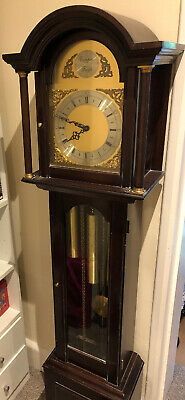 Lovely FHS Tempus Fugit Germany Grandmother clock Westminster Chimes