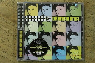 Rare Sealed New The Best of Dramarama: 18 Big Ones CD, 1996, Rhino/Elektra 73516