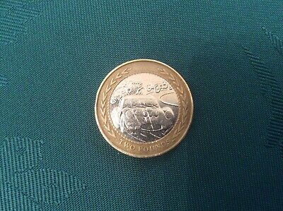 Isle of Man Vintage Car Rally £2 coin 1998.