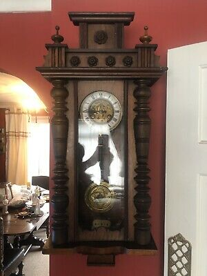 Lovely Antique Junghans Vienna Wall Clock
