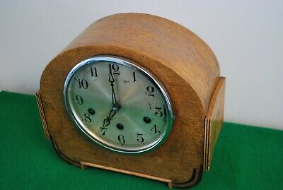Art Deco Gufa German Westminster Chimes Mantle Clock