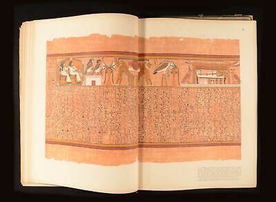 1890 The Book of the Dead Facsimile of the Papyrus of Ani British Museum