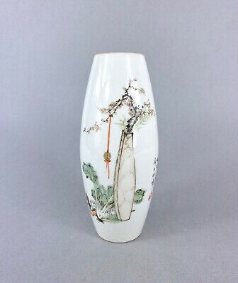 PERFECT WELL PAINTED REPUBLIC PERIOD VASE with WRITING