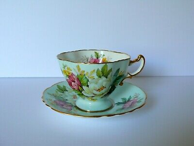 Hammersley Floral Cup & Saucer Set