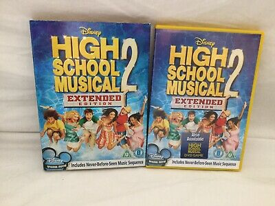 Disney's High School Musical 2 Extended Edition DVD, Robert Curtis With O Ring