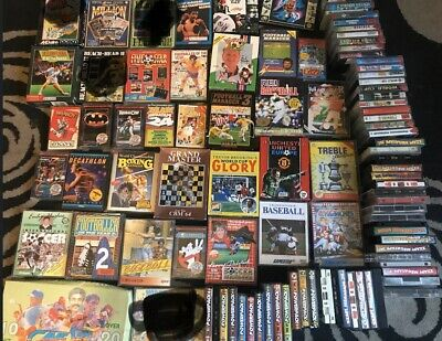 Commodore 64 C64 with games datasette bundle *tested* 100 Plus Gamea