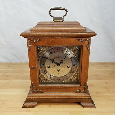 Vintage Seth Thomas Talley Industries 8 Day Mantle Clock *For Parts Or Repair*