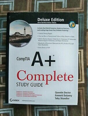 CompTIA A+ Complete Study Guide - Hardcover