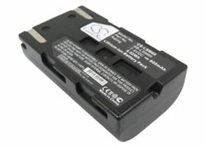 Replacement Battery Accessory For Samsung Sc-D375(H) 7.40V