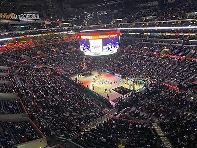 LA Lakers vs. LA Clippers (4) tickets 10/22/19 - opening night sect 314 Row 4