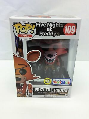 Funko POP! Five Nights at Freddy's Foxy The Pirate #109 Toys R Us Exclusive