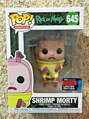 Funko Pop! Animation #645 Shrimp Morty Rick & Morty 2019 NYCC #645