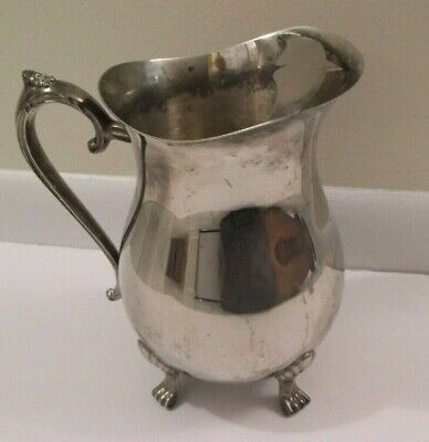 Vintage International Silver Co. Silver Plate Water Pitcher