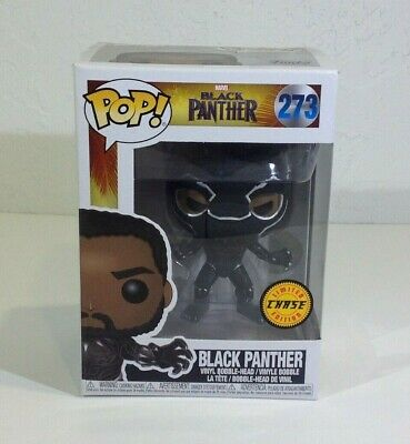 Funko PoP! Marvel Black Panther Chase Bobble Head #273