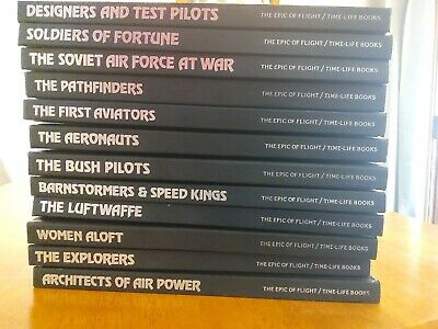 THE EPIC OF FLIGHT 23 Volumes Hardcover Time Life Books Aviation Planes History