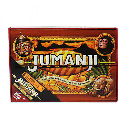Jumanji The Game in Real Wooden Box Toys Puzzles Board Games Fun Family
