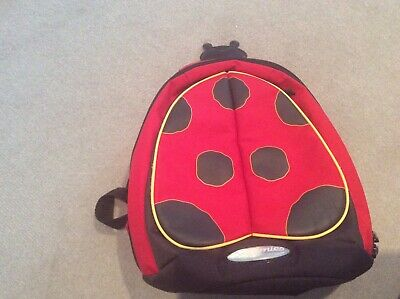 Sammies by Samsonite ladybird design child's backpack rucksack great condition