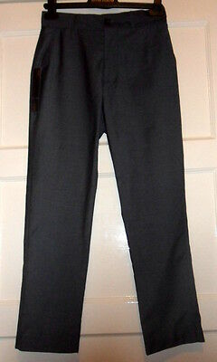 Bnwt Boys *Next*Fashion Suit Grey Trousers,12 Yrs Old, School Trousers