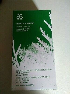 Arbonne Rescue And Renew Clarity Facial Set rrp £41