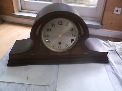 Mantle Clock Case (Wooden Case Only)For Restoration