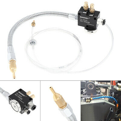 Mist Coolant Lubrication Spray System for CNC Lathe and Milling Machine