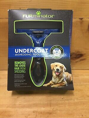 NEW FURMINATOR DESHEDDING TOOL FOR LARGE DOGS LONG HAIR (50 Lbs +)
