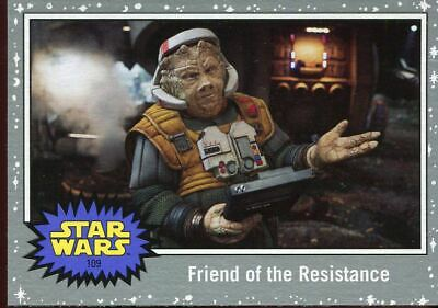 199 Parallel Base Card #97 The Falcon at Lightspeed Star Wars JTTROS Black