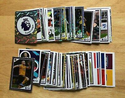 Panini Tabloid Premier League Special Edition 2019 Complete Set Of 120 Stickers
