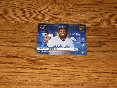 2019 Topps Now GOLD Winner  MOW-4W Vladimir Guerrero Jr. RC