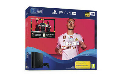 PS4 PRO 1TB CONSOLE  FIFA 20 Bundle: New Sealed: Fast Dispatch: Free delivery