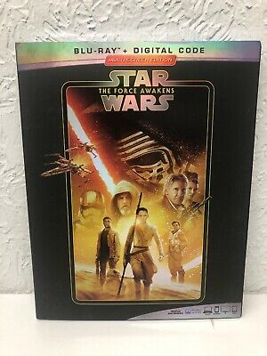 Star Wars Episode Vii The Force Awakens Blu Ray + Digital Hd Brand New